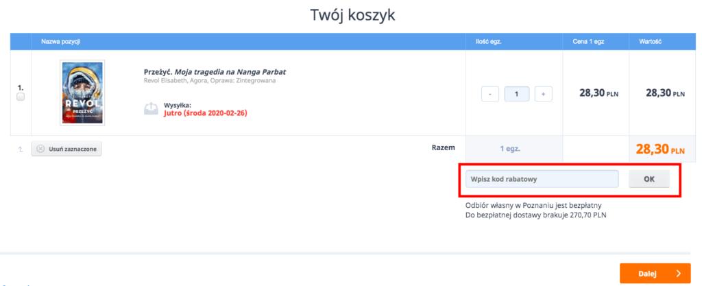 miejsce na kod rabatowy czytam.pl