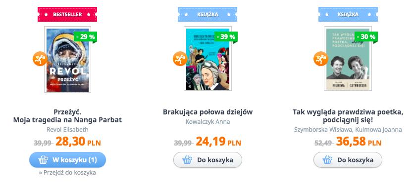 stałe promocje na czytam.pl