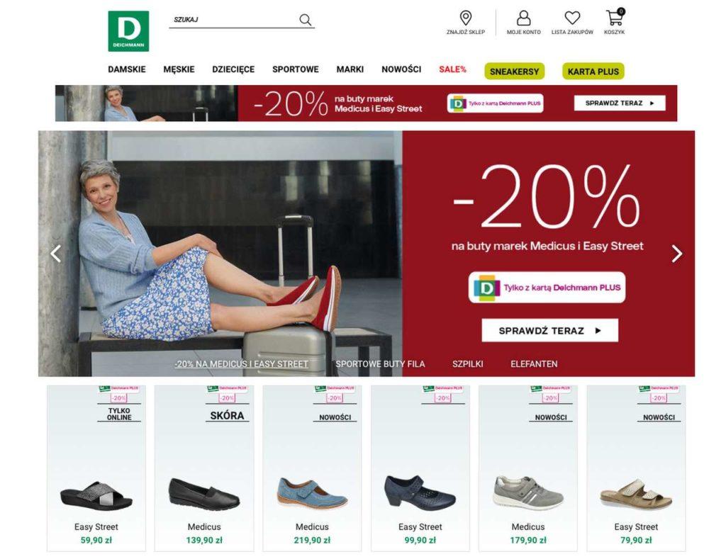 sklep z butami deichmann