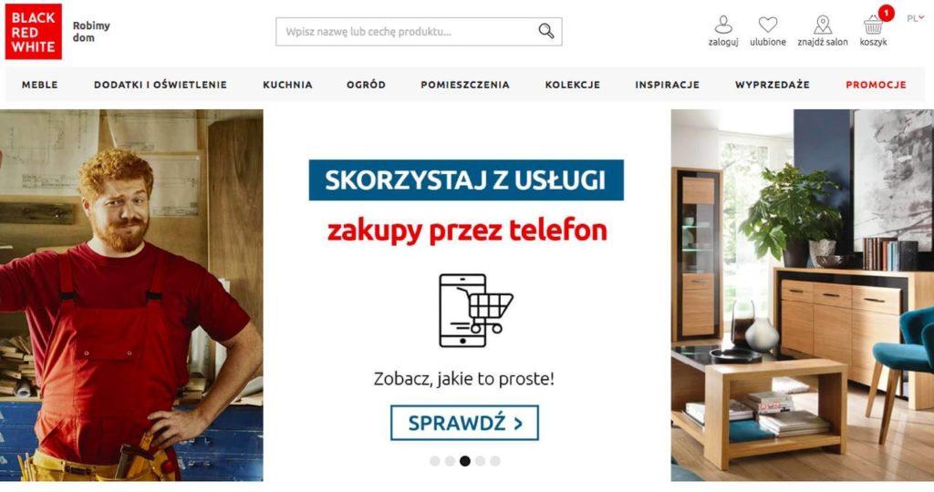 sklep internetowy z meblami BRW
