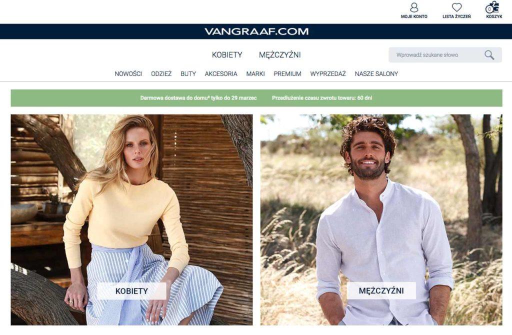 sklep internetowy Van GRAAF