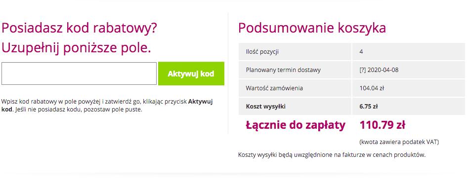 miejsce na kod rabatowy Ravelo.pl