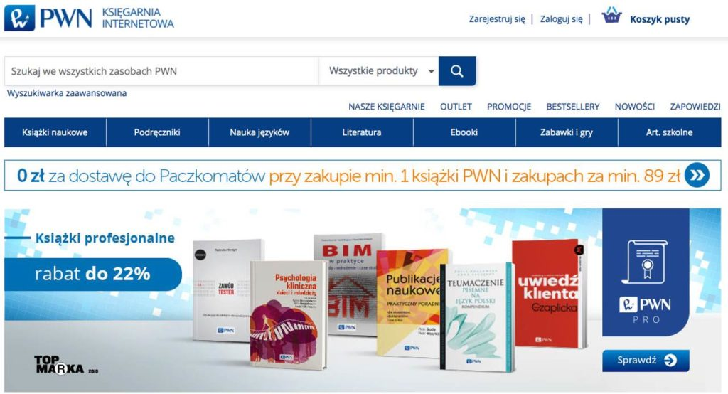 księgarnia internetowa PWN