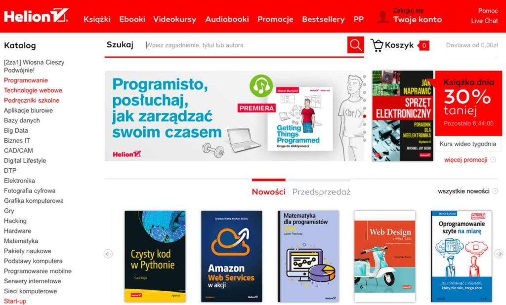 księgarnia internetowa Helion