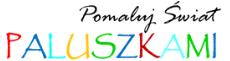 logo paluszkami
