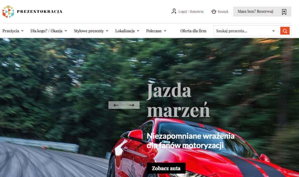 prezenty i przeżycia - prezentokracja.pl