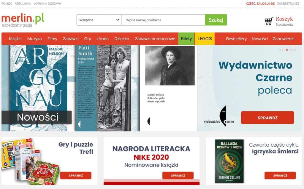 księgarnia internetowa Merlin