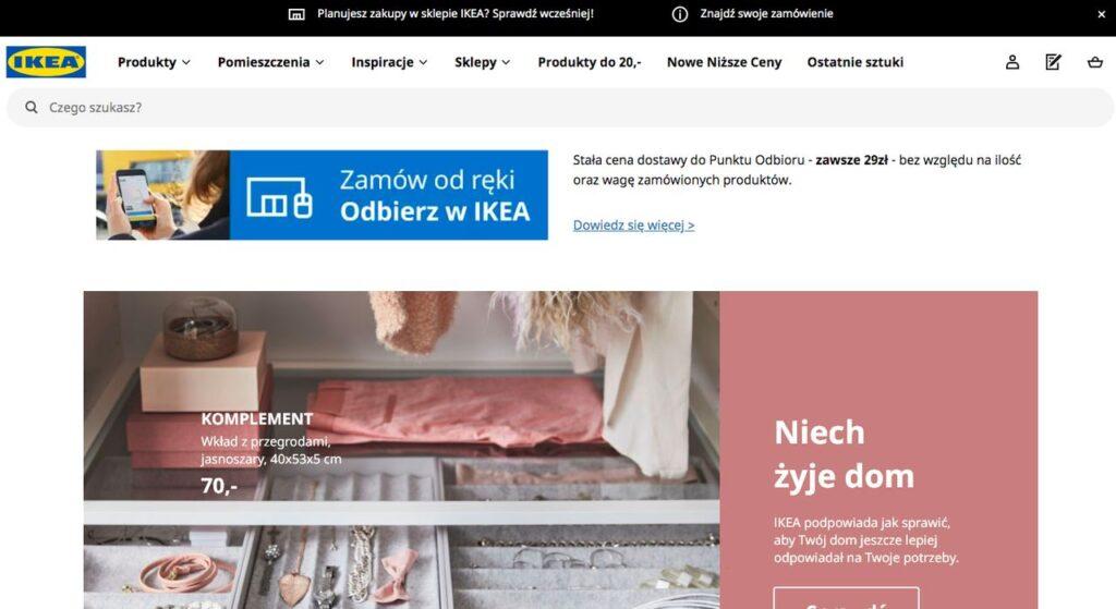 sklep z meblami IKEA