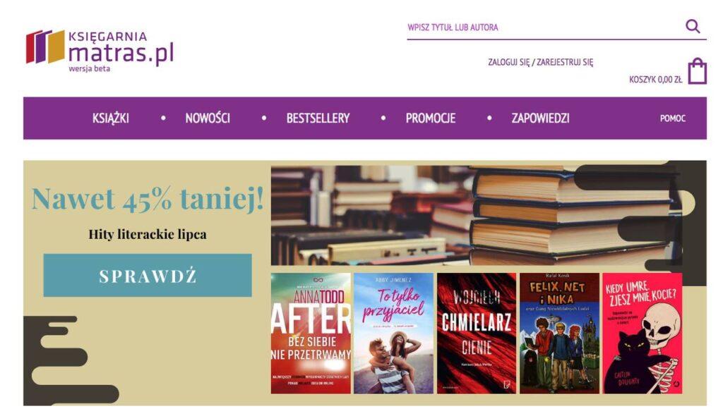 księgarnia internetowa Matras.pl