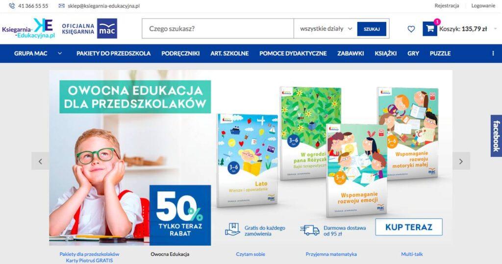 strona ksiegarnia-edukacyjna.pl