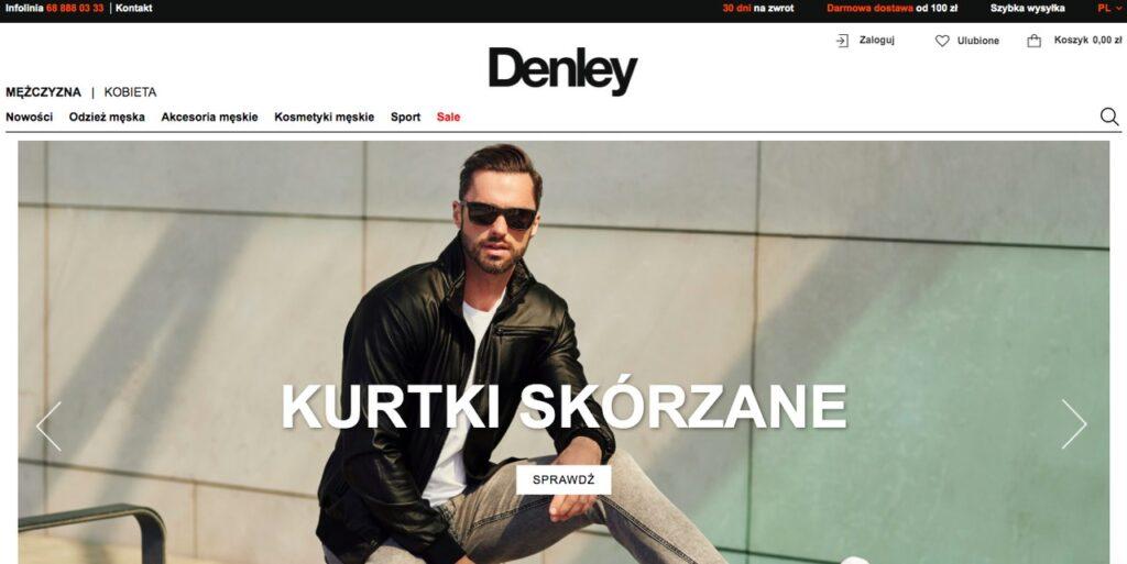 sklep internetowy DENLEY.PL