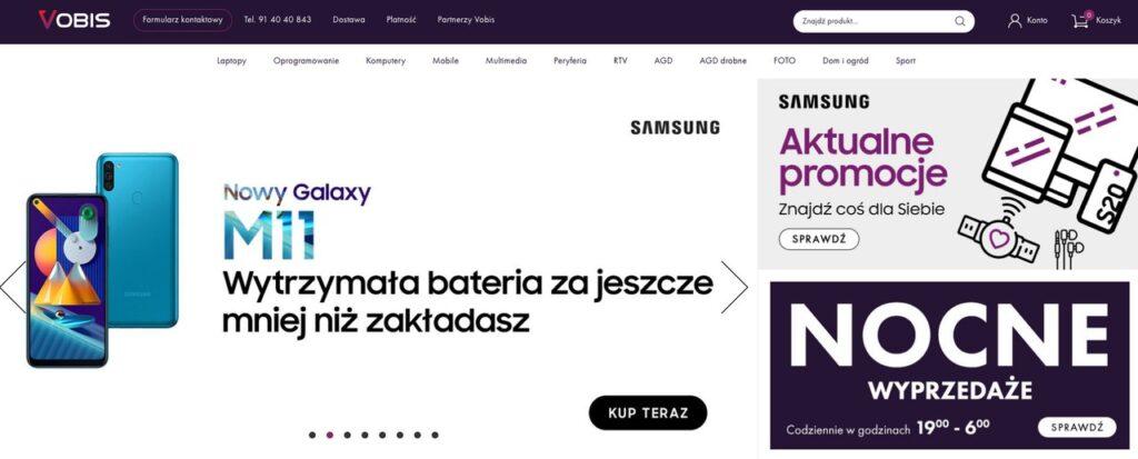 sklep internetowy Vobis