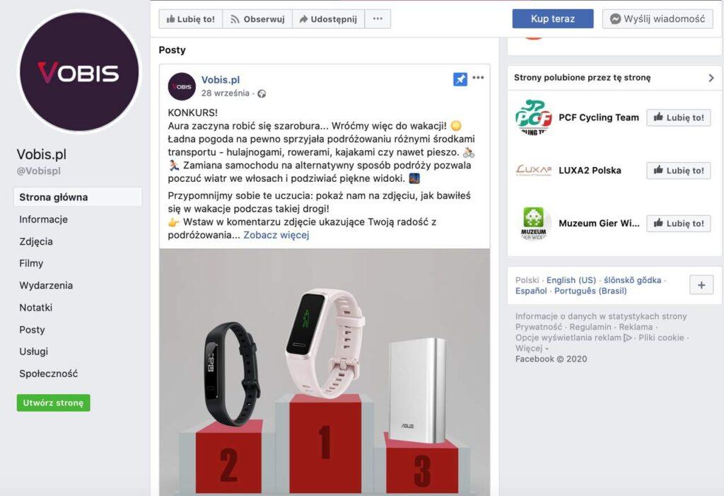 Vobis na facebooku