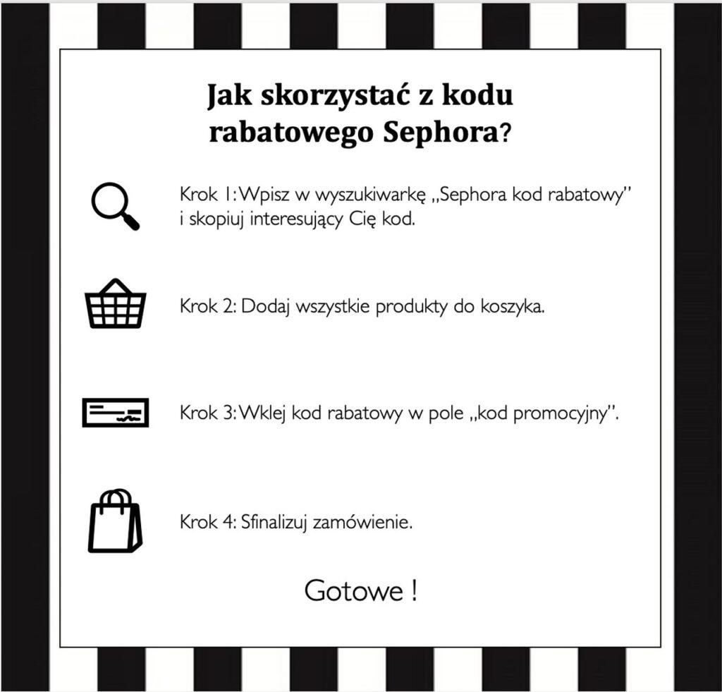 Sephora kod rabatowy – jak skorzystać?